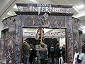 Dante's Inferno demo booth at WonderCon 2010 1.JPG