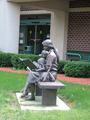 Danville Public Library (Illinois) statue.png