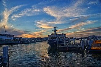 Darling Harbour - Darling Harbour at dusk
