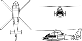 Image illustrative de l'article Aérospatiale HH-65 Dolphin
