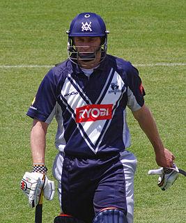 David Hussey Australian cricker