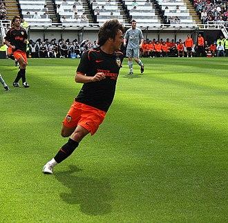 David Silva - Silva playing for Valencia