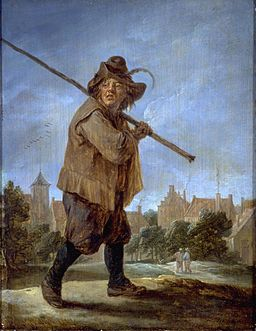David Teniers II - Peasant Walking (San Francisco)