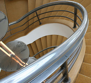 De La Warr Pavilion - A dramatic stairwell in the pavilion