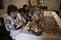 Decorating eggs at Bran Castle 2018 04 06.jpg