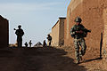 Defense.gov News Photo 100620-A-6225G-058 - U.S. Army soldiers from 1st Platoon Bulldog Troop 1st Squadron 91st Cavalry Regiment make their way into Paspajak in Logar province.jpg