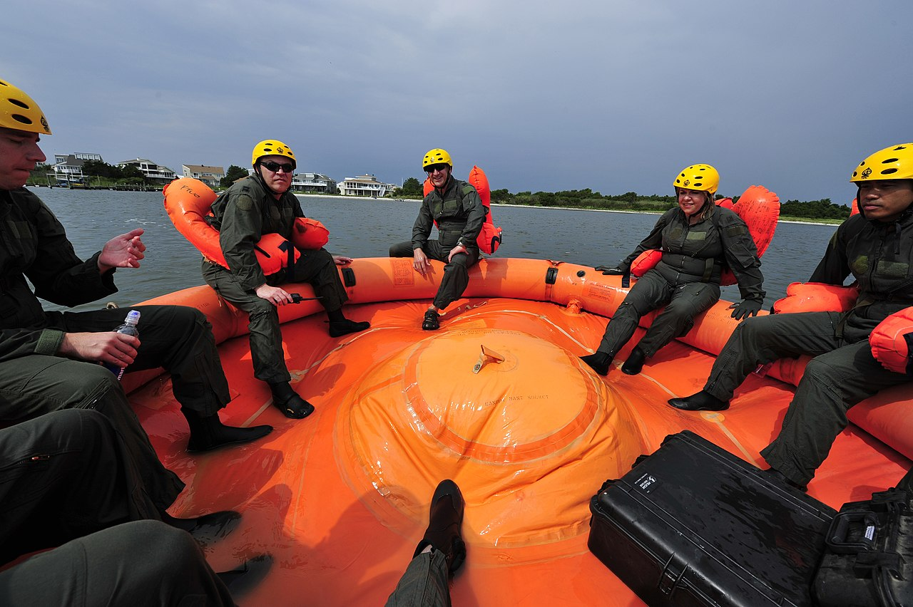 U.s. air force survival training search and rescue