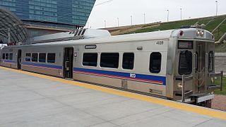 A Line (RTD) Commuter rail line in Colorado
