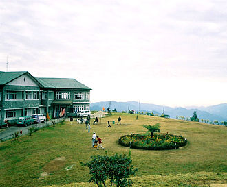 Kalimpong - A view from the Deolo Resort, atop Deolo Hill, Kalimpong's highest point