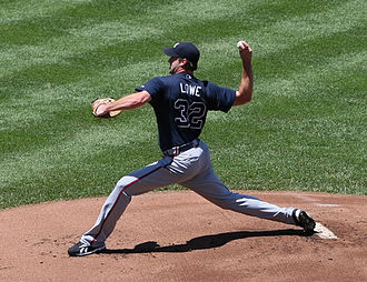 2012 Atlanta Braves season - Before being traded to the Indians, Derek Lowe went 40–39 with a 4.57 ERA in 101 starts for Atlanta.