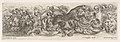 Design for a Frieze with Acanthus Scrolls and a Leopard in the Center, Plate 10 from- 'Decorative friezes and foliage' (Ornamenti di fregi e fogliami) MET DP833580.jpg