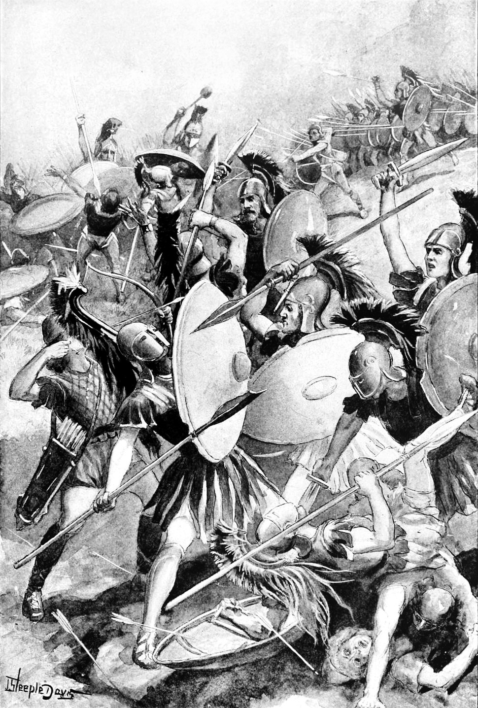 Destruction of the Athenian army at Syracuse