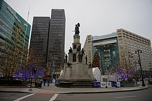 Placemaking - Detroit's Campus Martius Park, an example of Placemaking in action.