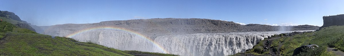 Panorama of Dettifoss