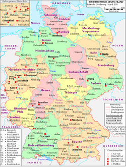 karta ddr Östtyskland (olika betydelser) – Wikipedia karta ddr