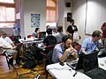 Developers lounge at Wikimania 2011 - Stierch.jpg