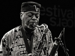 Dewey Redman - Redman at Moers Festival, June 2006, Germany