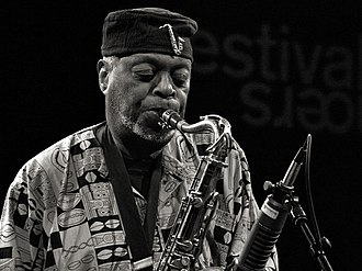 Dewey Redman - Redman at Moers Festival, Germany, June 2006