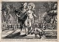 Diana (Artemis). Engraving by J. Matham, 1615, after H. Golt Wellcome V0035803.jpg