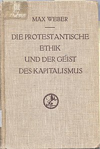 The Protestant Ethic and the Spirit of Capitalism cover