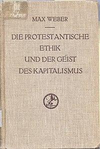 Die protestantische Ethik und der 'Geist' des Kapitalismus original cover.jpg
