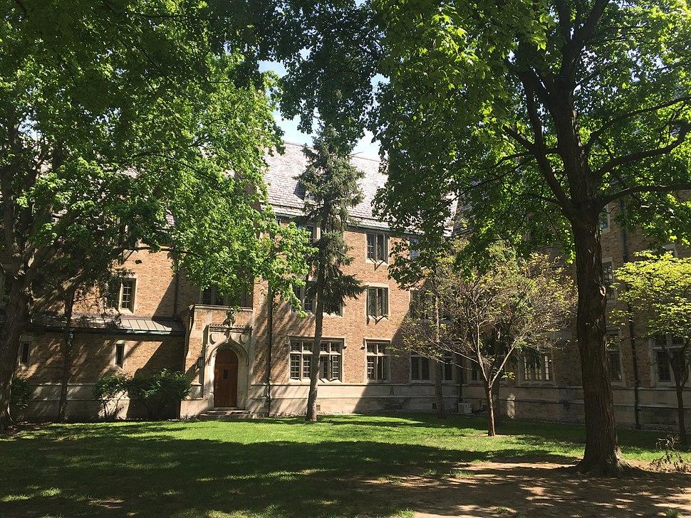 Dillon hall courtyard