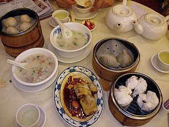 Hong Kong cuisine - A dim sum breakfast in Hong Kong