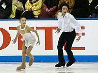 Ding Yang & Ren Zhongfei 2003 NHK Trophy.jpg