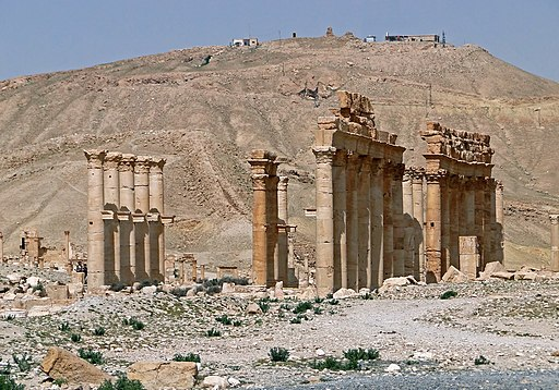Diocletian's Camp, Palmyra 02