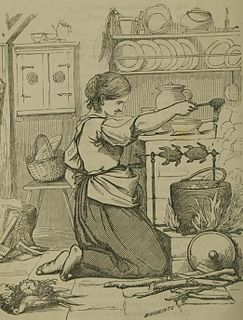 Cook (domestic worker) food-prepating domestic worker