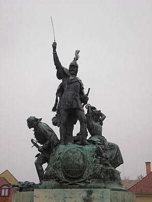 Alajos Stróbl - Image: Dobo Istvan Statue 01