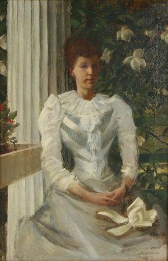 William de Leftwich Dodge - Image: Dodge Victorian Woman In White