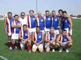Australian rules football in the Middle East - Doha Kangaroos at the 2007 Dubai 9s