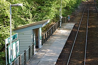 Marshlink line - Doleham railway station has a very limited service on the Marshlink line