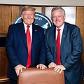 Donald Trump and Mark Meadows on Air Force One.jpg