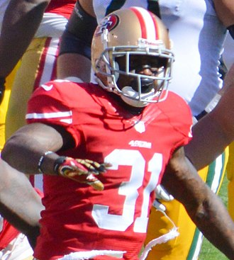 Donte Whitner - Whitner with the 49ers in 2013