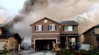 File:Double House Fire in North Salt Lake, Utah.webm