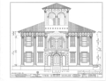 Dr. John H. Drish House, 2300 Seventeenth Street, Tuscaloosa, Tuscaloosa County, AL HABS ALA,63-TUSLO,1- (sheet 3 of 5).png