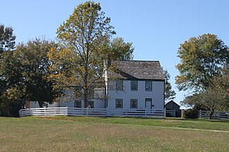 Samuel Mudd - St. Catherine house with surrounding tobacco plantation property