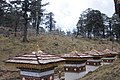 Druk Wangyal - 108 Chortens at Dochula on Thimphu-Punakha Highway - Bhutan - panoramio (8).jpg