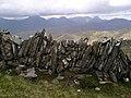 Dry stone wall, Sgurr Choire nan Eiricheallach - geograph.org.uk - 187545.jpg