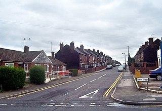 Brinsworth village in United Kingdom