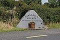 Dungarvan village welcome sign - geograph.org.uk - 488156.jpg
