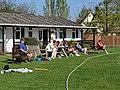 Dunmow CC cricket ground pavilion in Essex England 5.jpg