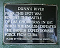 Dunns River Falls plaque Photo D Ramey Logan.jpg