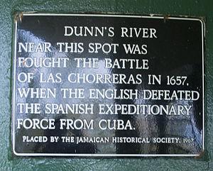 Dunn's River Falls - Dunns River Falls plaque