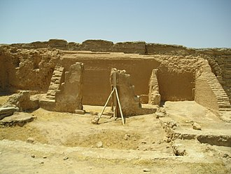 Church architecture - The Dura-Europos house church, built ca. 232 AD, with a chapel area on right