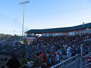 Dutchess Stadium - Dutchess Stadium, August 2010