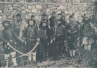 Internal Macedonian Revolutionary Organization - IMRO Revolutionaries from Florina, 1903