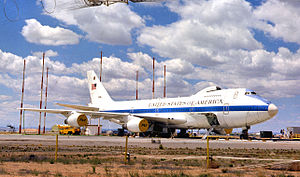 E-4 advanced airborne command post EMP sim-closeup